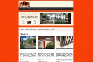 James Automation Website